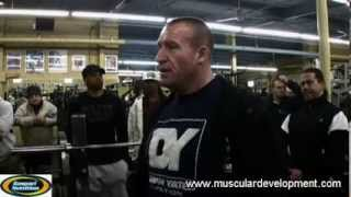 Dorian Yates: Chest Exercises