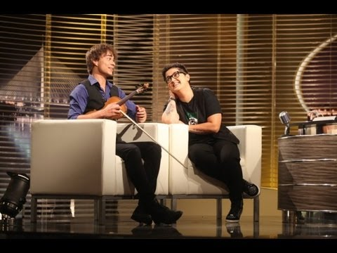 "Alexander Rybak & Marija Serifovic on ""An evening with Ivan Ivanovic"" 21.06.2013"