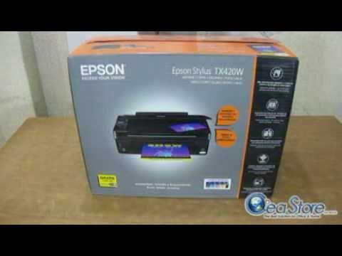 CeaStore Lab Unboxing Multifuncional Epson Stylus TX420W