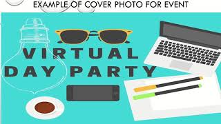 How to launch a virtual party on facebook?