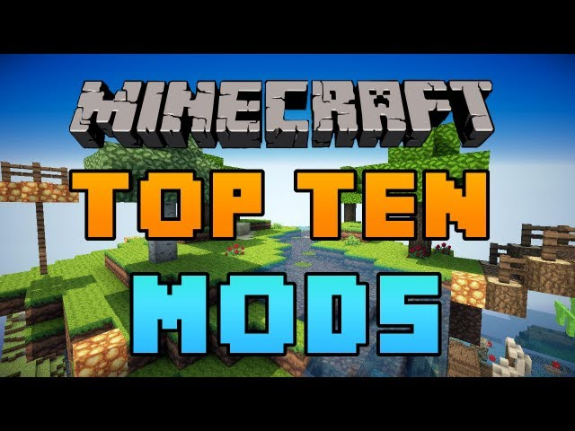Top 10 Minecraft Mods 2012 1.4.7 - HD