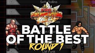 Fire Pro Wrestling World   WWE - NJPW - TNA WRESTLER TOURNAMENT ROUND 1