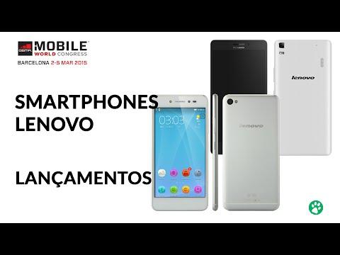 Smartphones Lenovo - Lançamentos - MWC 2015