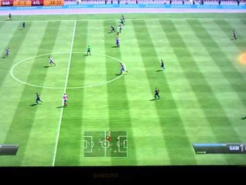 Atletico de Madrid (JoseChuncoLara) vs Barcelona (ELKATCH72) FIFA 13 XBOX 360.AVI