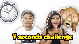 7 SECOND CHALLENGE WITH LISAAH MAPSIE  (GETS FRUITY)
