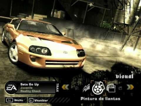 NFS Most Wanted fast and furious 1 y 2 cars