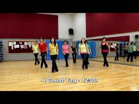 Bonfire Heart - Line Dance (Dance & Teach in English & 中文)