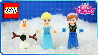 ♥ LEGO Disney Frozen Elsa, Anna & Olaf in Episode The BIG Snow Rabbit (Episode 3)
