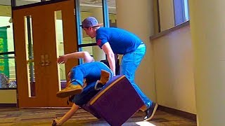 Chair Pulling Prank Part 13