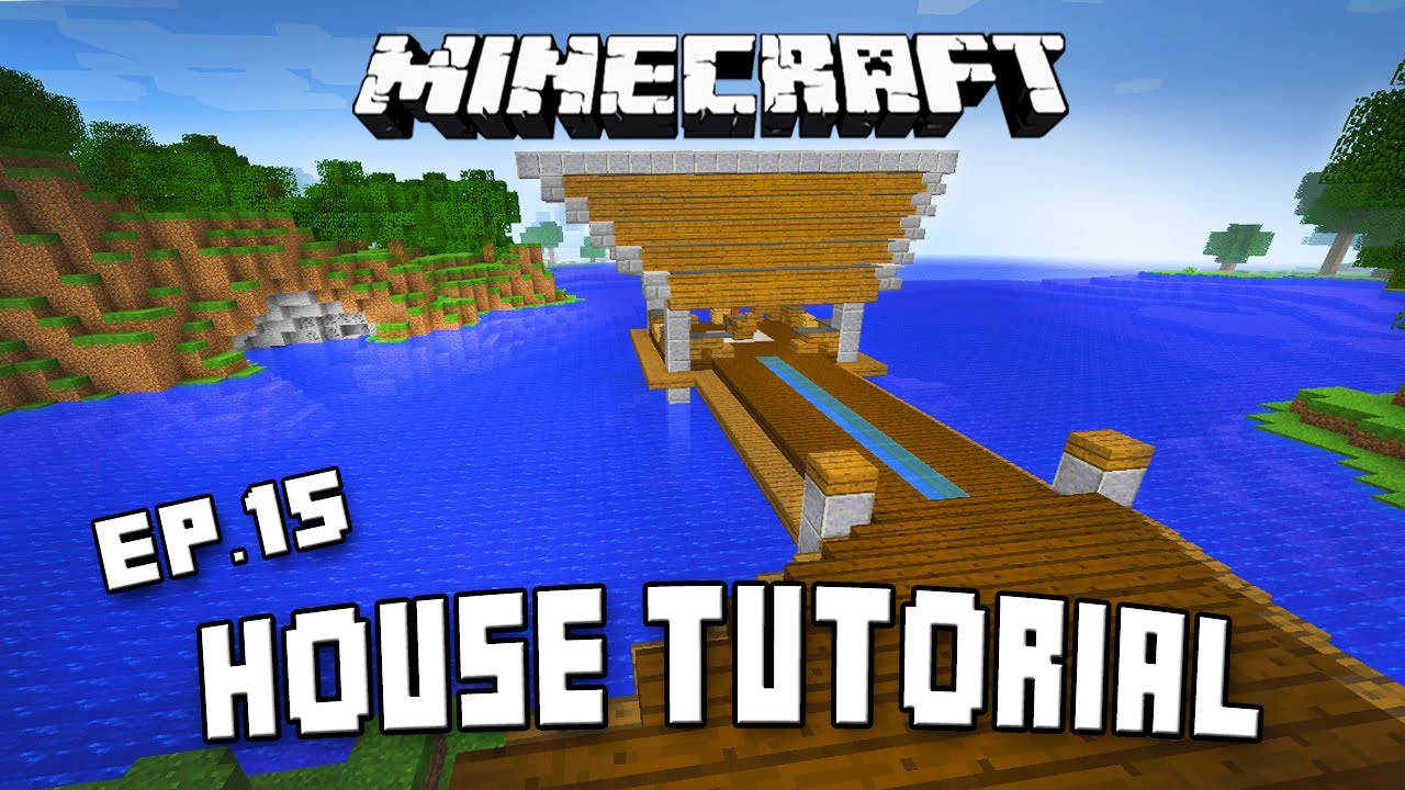 Minecraft Tutorial Fishing Dock For The Modern Cabin