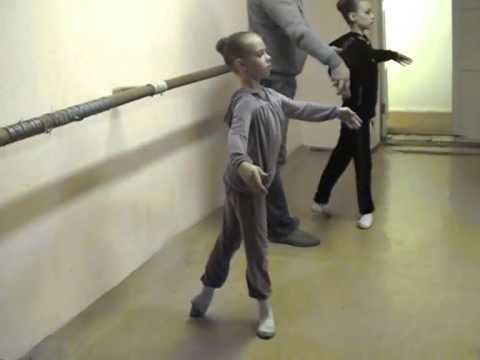 Ballet lesson in a theatre. Vladislav Kuramshin and his students Music Videos