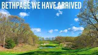 BETHPAGE JUST BEFORE THE PGA CHAMPIONSHIPS