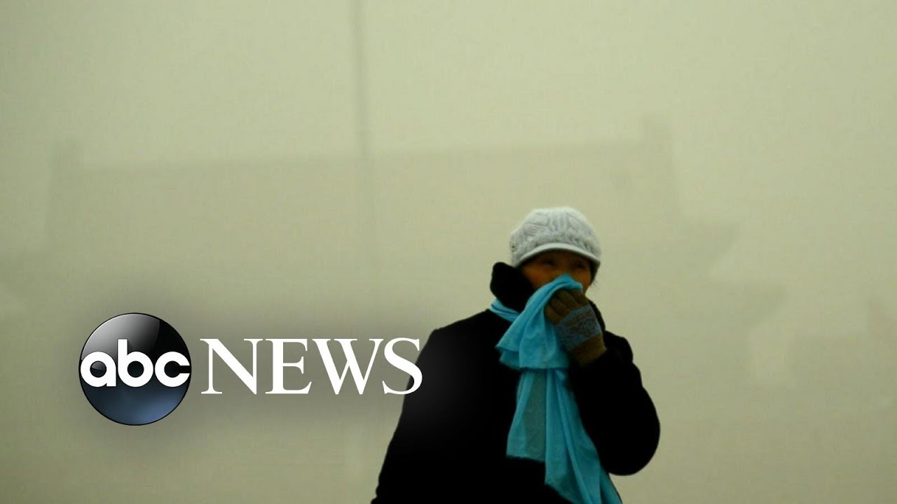 China Choked by Dense Smog