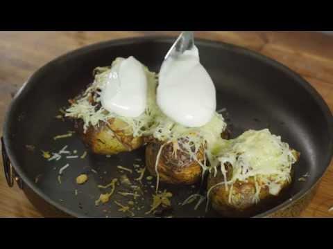 Картофель в духовке со всем чем только можно