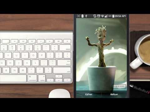 Como poner imágenes animadas/GIF para fondos de pantalla   Video Extra