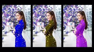Hà Phương #21  Các mẫu vải áo dài đẹp nhất tháng 8   vải áo dài 3d