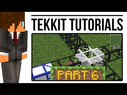 Tekkit Tutorial: Pipes - Filters. Teleporters and more! (BuildCraft)