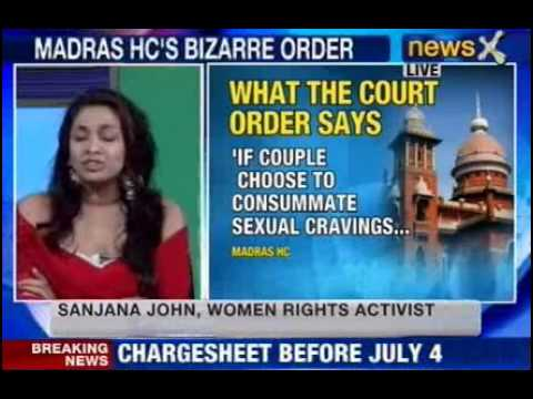 NewsX: Is pre-marital sex a crime?  - Part 1