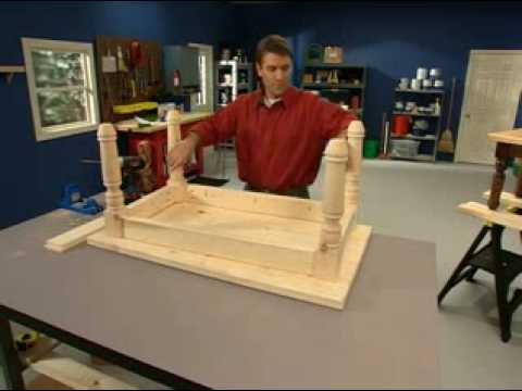 Kreg Jig® Skills: Attaching Tabletops