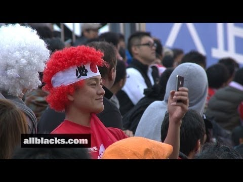2013 Air New Zealand European Tour - All Blacks V Brave Blossoms, Match Reaction