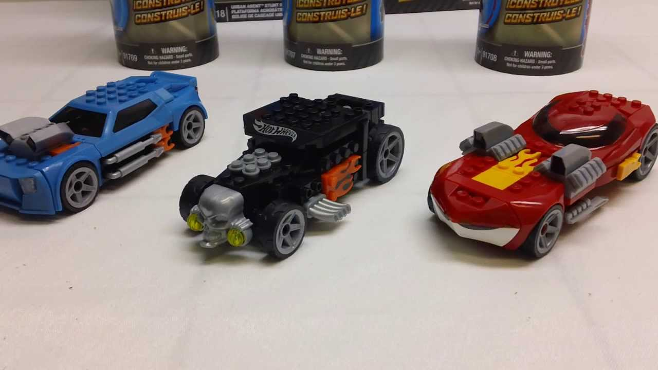 Hot wheels из лего картинки