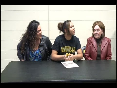 Destiny Parker of Snider high school signs with Danville Area Community College basketball