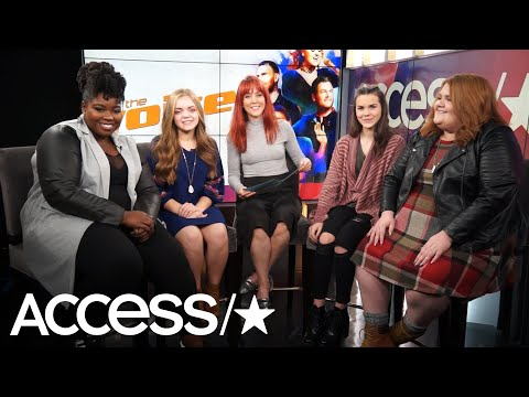 'The Voice': Kymberli, Sarah Grace, Reagan & MaKenzie Break Down Those Semi-Final Results | Access