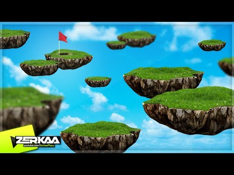 THE FLOATING ISLAND COURSE! (Golf It)