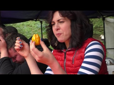 Chilli Eating Contest | Eastnor Castle Festival | Monday 4th May 2015