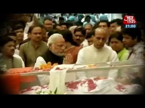 The last journey of Gopinath Munde
