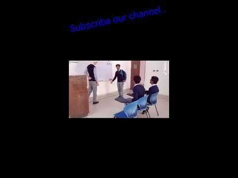 Funny tiktok #full pack of fun # Punjab college...
