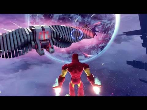 Disney Infinity 2.0 - IRON MAN IN GUARDIANS OF THE GALAXY GAMEPLAY!! (PS4 1080p HD)