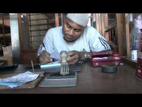 Gambia: Maken dakprofielen Medische Post