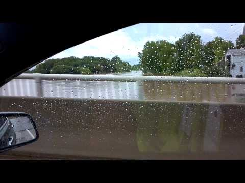 Milton PA Susquehanna Bridge Flooding 2011