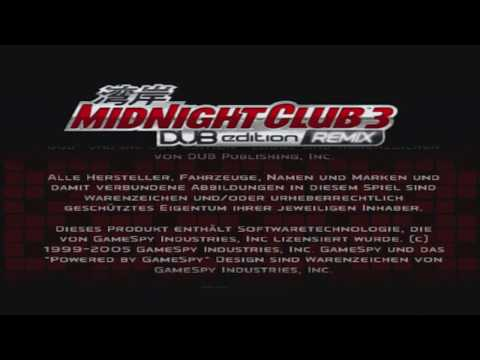 Midnight Club 3 DUB Edition REMIX 2013 [PS3]