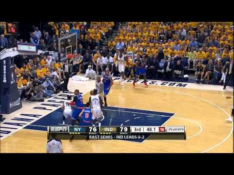Iman Shumpert and Chris Copeland vs Pacers Full Highlights (2013 ECSF GM6) (2013.05.18)