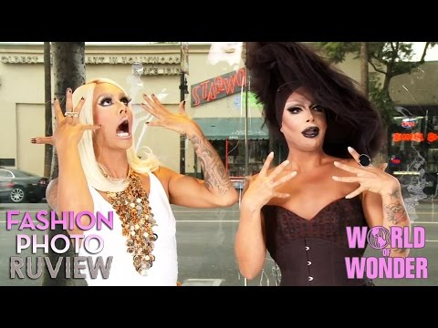 RuPaul's Drag Race Fashion Photo RuView with Raja & Raven - Social Media Ep 16