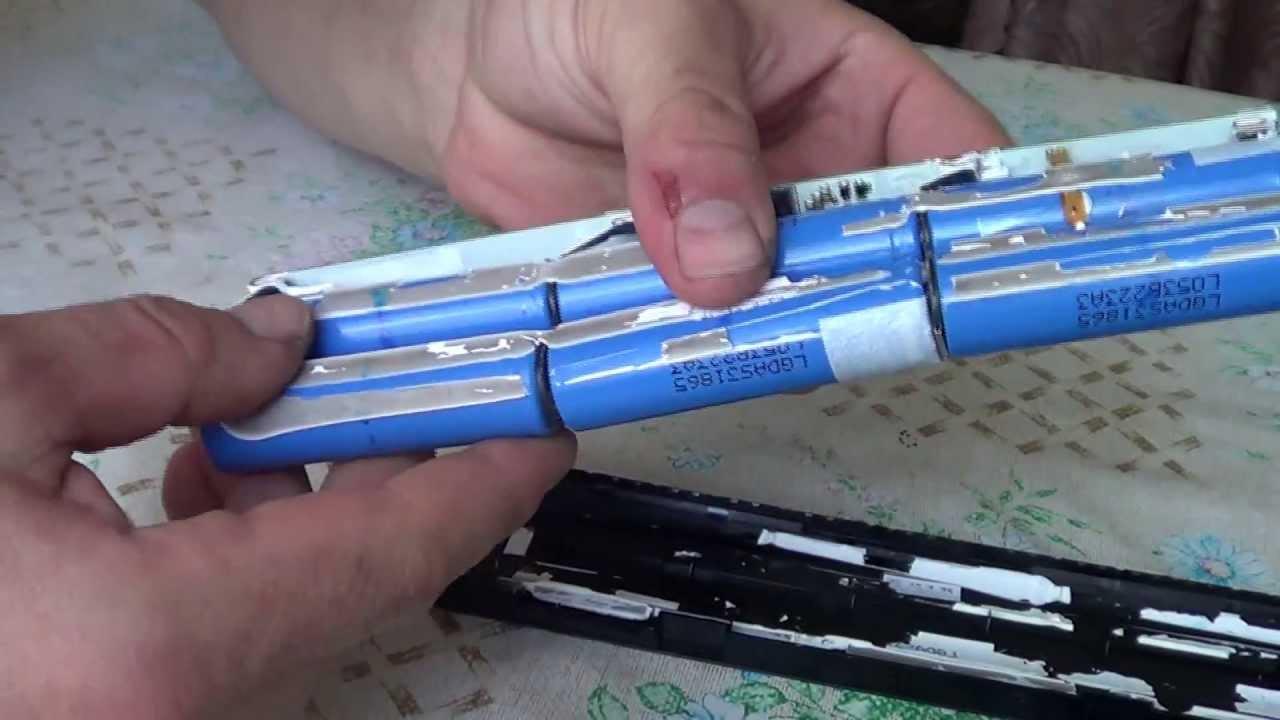 батареи ноутбука своими руками