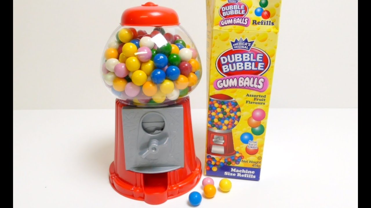 Gumball machine template