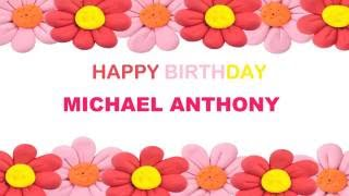 Michael Anthony   Birthday Postcards & Postales8 - Happy Birthday