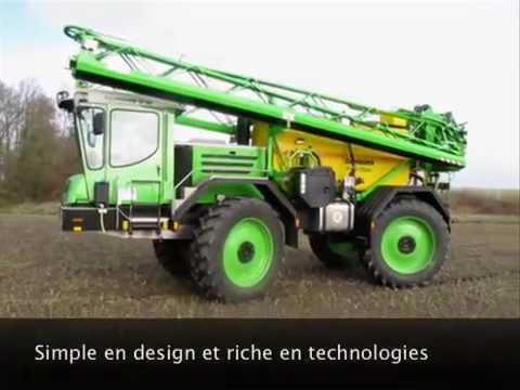 Pulv risateurs dammann arrive sur le march fran ais tracteur et mat riel agricole youtube - Cars et les tracteurs ...