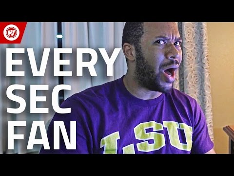 Every Fan In 90 Seconds | SEC Football 2016