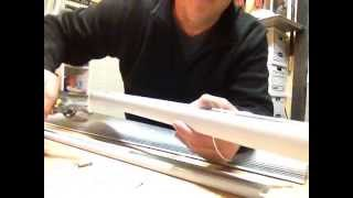 How to restring a Levolor - Kirsch cordless honeycomb shade, Part 2