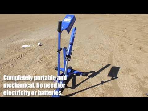 upm45 blue pitching machine