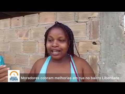 Moradores cobram melhorias em rua do bairro Liberdade