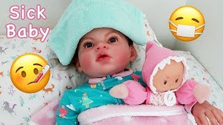Reborn Toddler is Sick! Reborn Baby Goes to the Doctor