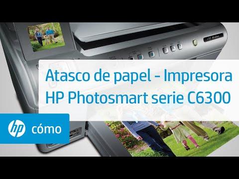 Atasco de papel - Impresora HP Photosmart serie C6300