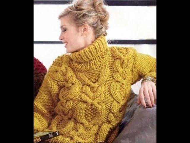 видео - Вязание Пуловера Спицами - модели - 2019 / video Knitting Pullover Knitting needles