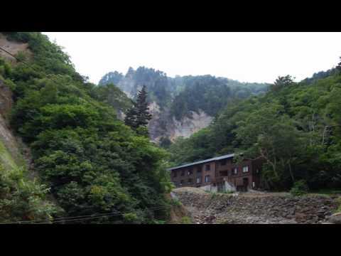 山形県米沢の秘湯 姥湯温泉と峠駅