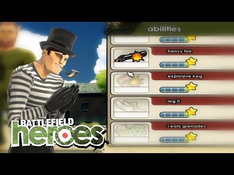 Glitched ability points? Thx, EAsy!   Battlefield Heroes